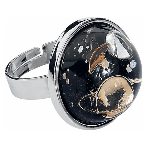 Blackheart - Planet Ring - Ring - silver-coloured
