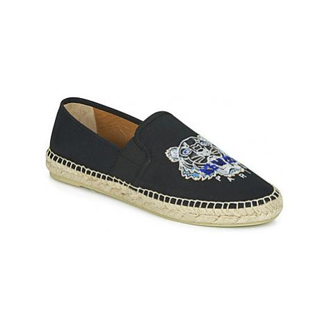 Kenzo ESPADRILLE ELASTIQUE TIGER HEAD women's Espadrilles / Casual Shoes in Black