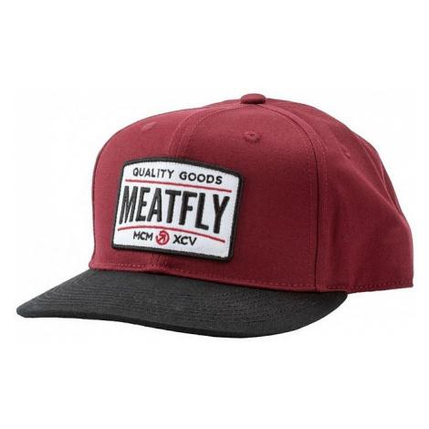 cap Meatfly Arcade Snapback - B/Wine/Black