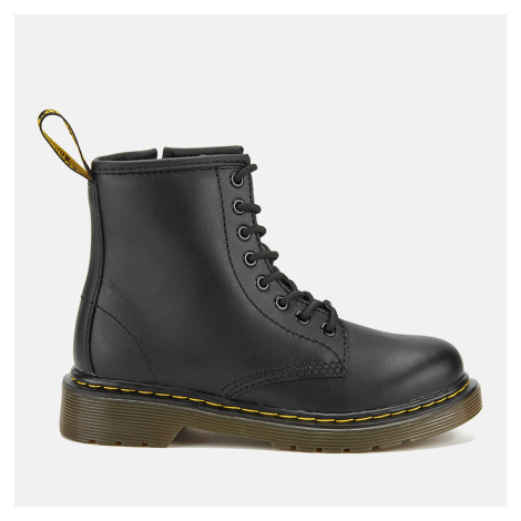 Dr. Martens Kids' 1460 Softy Leather Lace-Up Boots - Black Dr Martens