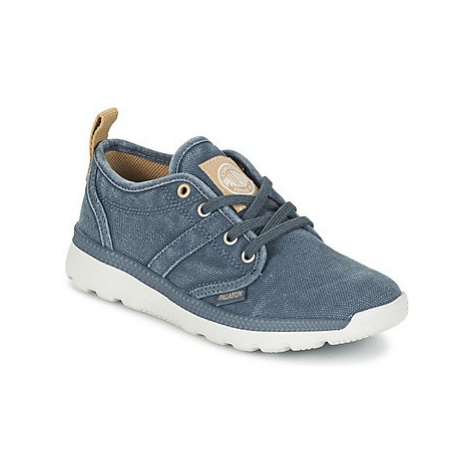 Palladium PLVIL LO ZIP K boys's Children's Shoes (Trainers) in Blue