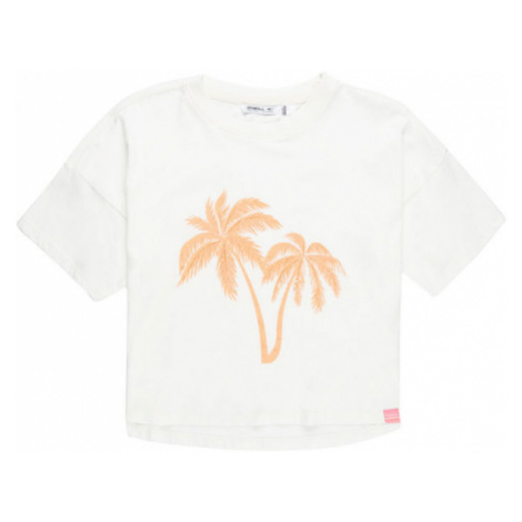 O'Neill LG PALM T-SHIRT white - Girls' T-shirt