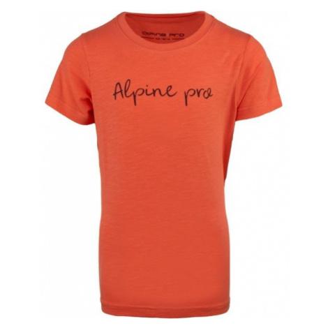 ALPINE PRO SANTOSO pink - Children's T-shirt