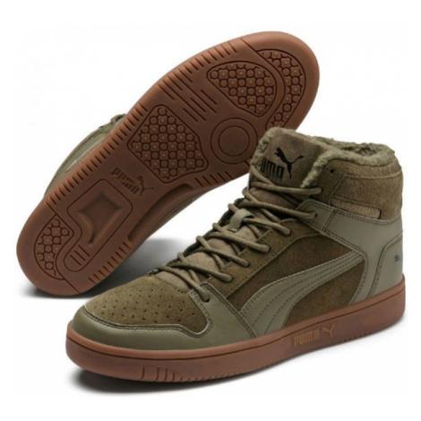 Puma REBOUND LAYUP SD FUR blue - Men's leisure footwear
