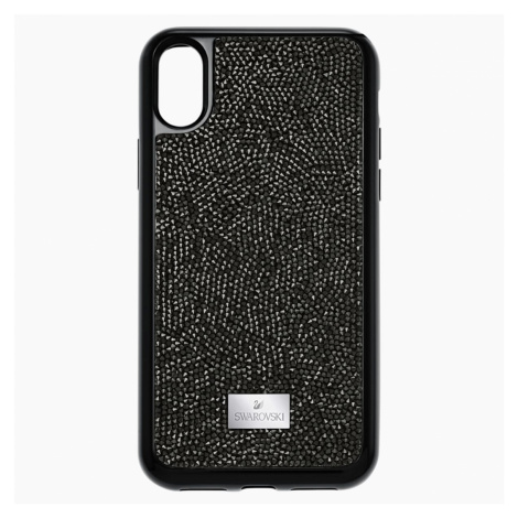 Glam Rock Smartphone Case with integrated Bumper, iPhone® X/XS, Black Swarovski
