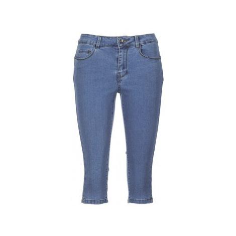 Vero Moda VMHOTSEVEN women's Cropped trousers in Blue