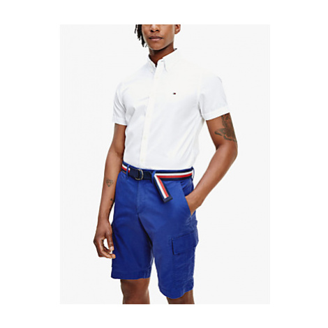 Tommy Hilfiger Short Sleeve Oxford Shirt, White