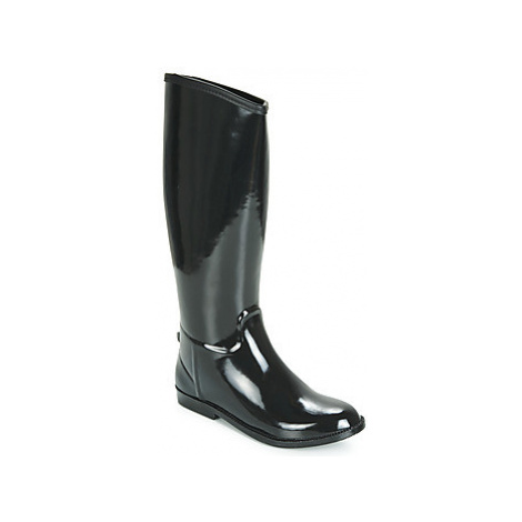 Be Only CAVALIERE women's Wellington Boots in Black