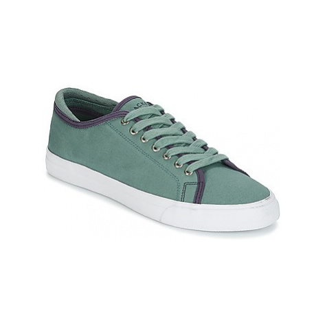 Hackett MR CLASSIC PLIMSOLE men's Shoes (Trainers) in Green