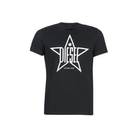 Diesel T DIEGO YH men's T shirt in Black