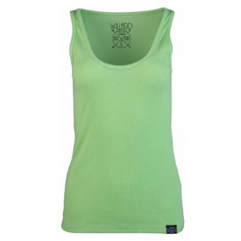 Green women's tank tops