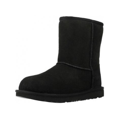 UGG CLASSIC II girls's Children's Snow boots in Black