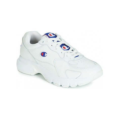 Champion CWA-1 LEATHER women's Shoes (Trainers) in Beige