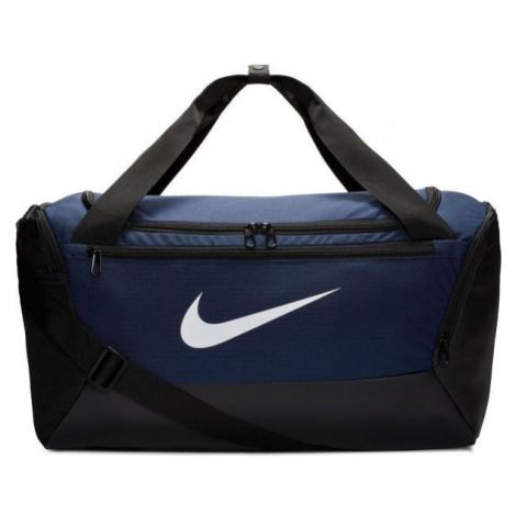 Nike BRASILIA S DUFF dark blue - Sports bag