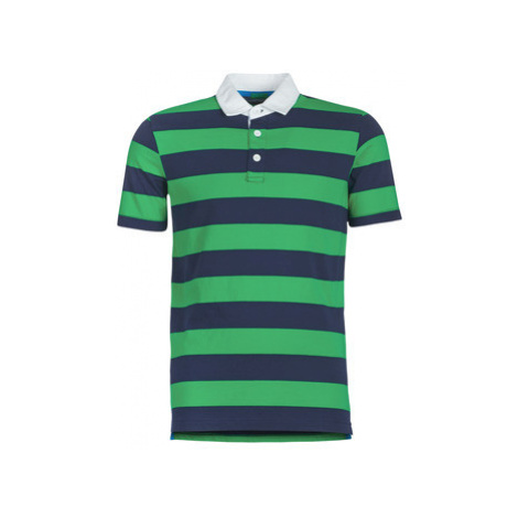 Benetton MADALO men's Polo shirt in Blue United Colors of Benetton