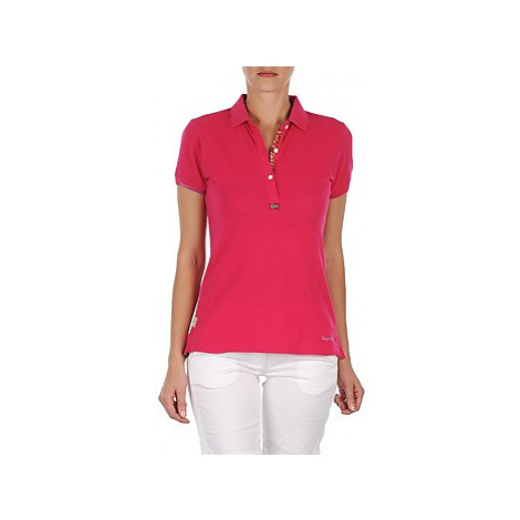 Napapijri ELINDA women's Polo shirt in Pink