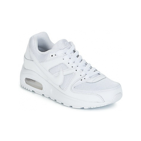 Nike AIR MAX COMMAND FLEX GROUNDSCHOOL boys's Children's Shoes (Trainers) in White