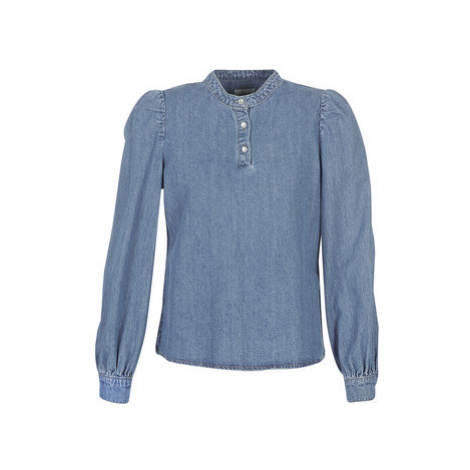 Only ONLNORMI women's Blouse in Blue