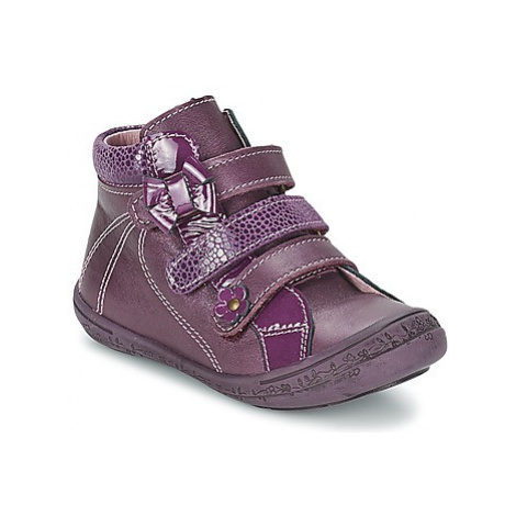 Citrouille et Compagnie FALIE girls's Children's Mid Boots in Purple