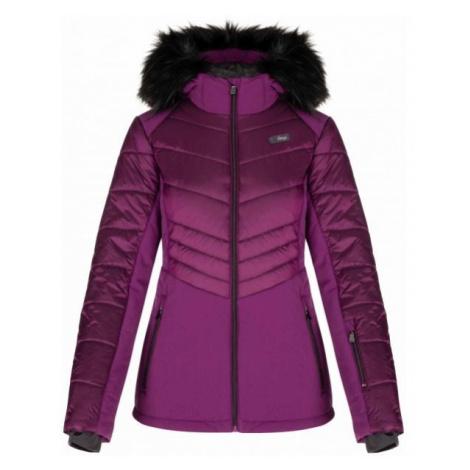 Loap ODIANA purple - Women's ski jacket