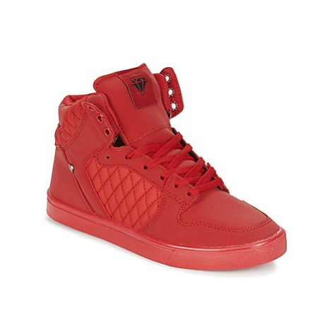 Cash Money JAILOR women's Shoes (High-top Trainers) in Red