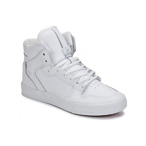 Supra VAIDER CLASSIC women's Shoes (High-top Trainers) in White