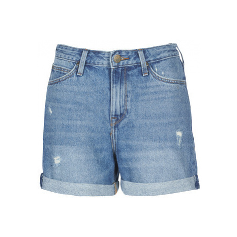Lee MOM SHORT women's Shorts in Blue