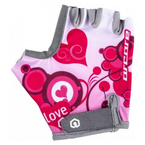 Arcore LUKE white - Kids' cycling gloves