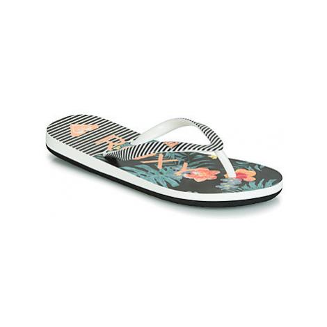 Roxy RG PEBBLES VI G SNDL MLT girls's Children's Flip flops / Sandals in Black