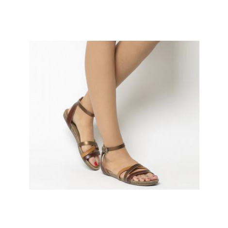 Blowfish Malibu Galie Sandal WHISKEY MULTI