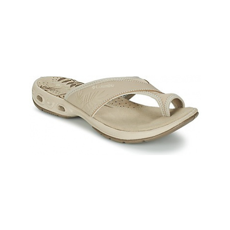 Columbia KEA™ VENT women's Flip flops / Sandals (Shoes) in Beige