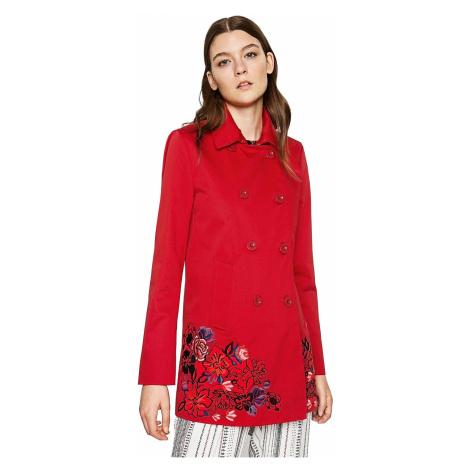coat Desigual 71E2YE6/Norma - 3000/Carmin