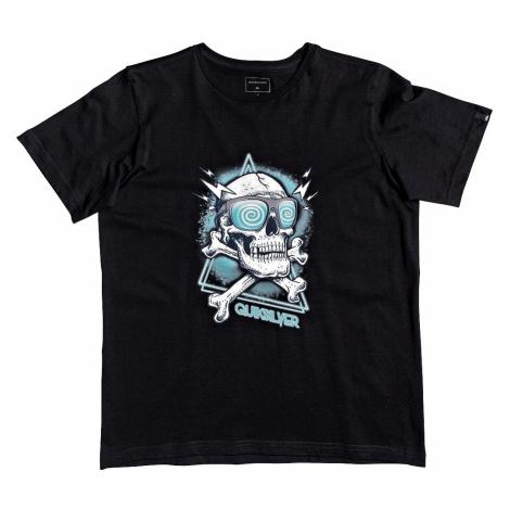 T-Shirt Quiksilver Hell Revival - KVJ0/Black - boy´s