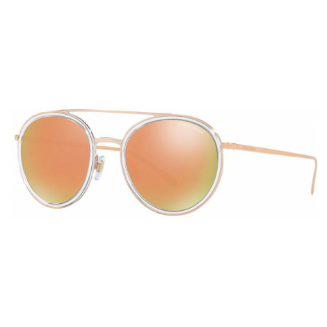 Giorgio Armani Woman AR6051 - Frame color: Transparent, Lens color: Gold, Size 51-20/145