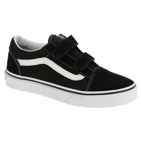 shoes Vans Old Skool V - Black/True White - unisex junior