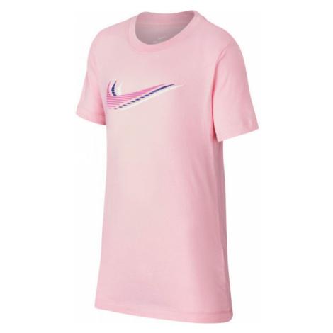 Nike NSW TEE TRIPLE SWOOSH U pink - Children's T-shirt