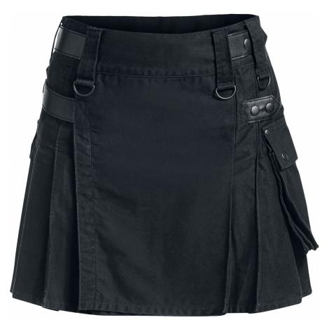 Black Premium by EMP Kilt Short skirt black