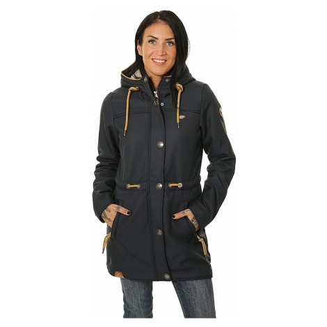 jacket Ragwear Halina Long A - 2028/Navy - women´s