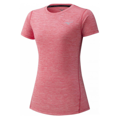 Mizuno IMPULSE CORE TEE W pink - Women's running Tee
