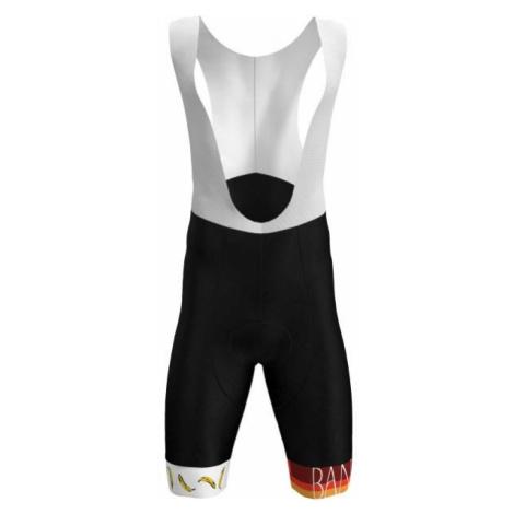 Rosti BANANA black - Men's cycling bib shorts