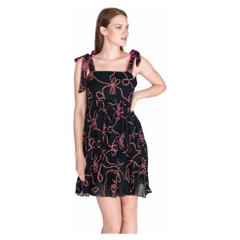 Pinko Bletilla Dress Black Blue