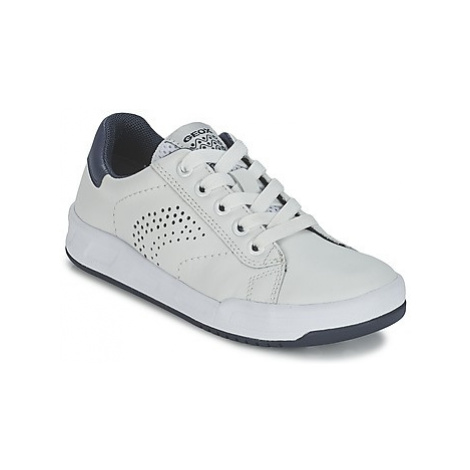 Geox ROLK B. D boys's Children's Shoes (Trainers) in White