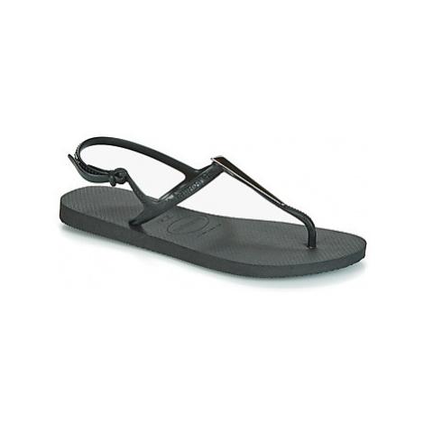 Havaianas FREEDOM MAXI women's Sandals in Black