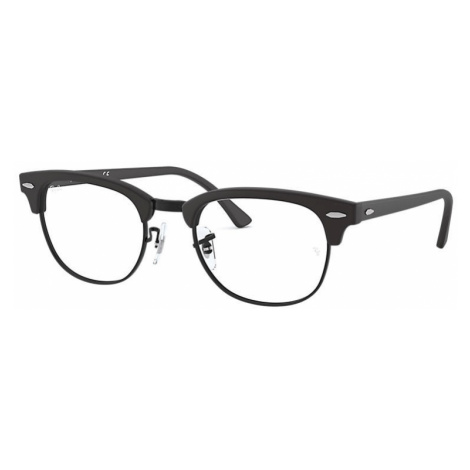 Ray-Ban Clubmaster optics Unisex Optical Lenses: Multicolor, Frame: Black - RB5154 2077 51-21