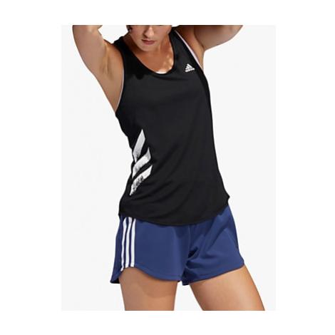 Adidas Own The Run 3-Stripes PB Running Vest, Black