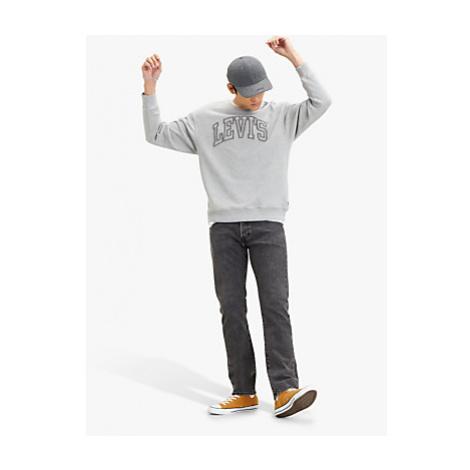 Levi's Logo Crew Neck Sweatshirt, Grey Levi´s