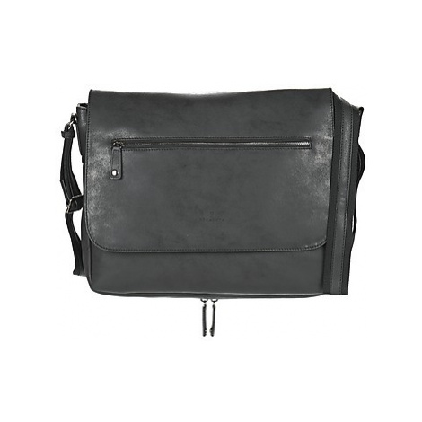 Hexagona JOULO men's Messenger bag in Black