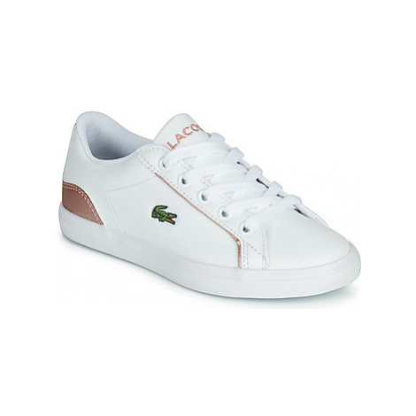 Lacoste LEROND 319 2 CUJ girls's Children's Shoes (Trainers) in White