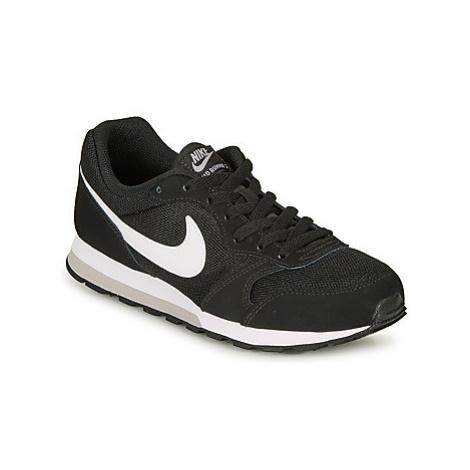 Nike MD RUNNER 2 GRADE SCHOOL girls's Children's Shoes (Trainers) in Black