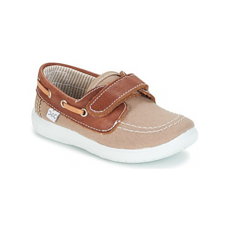 Citrouille et Compagnie GASCATO boys's Children's Boat Shoes in Brown